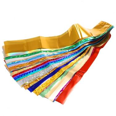50 Farben Nagel-Kunst-Transfer Folien Aufkleber-Beauty Sterndesign Nagellack DIY Nagel-Tips Dekorationen Accessoires