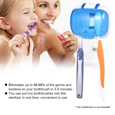 Toothbrush UV Disinfection Box UV Toothbrush Sterilizer Anti-bacteria
