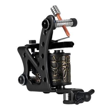 Tattoo-Maschine professionelles Tattoo Motor Tätowieren Shader & Liner-Maschinengewehr-Körper-Tätowierung-Maschine schwarz