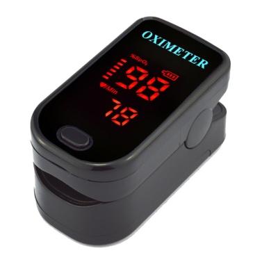 Fingertip Pulse Rate Oximeter Instant Read SpO2 Health Monitor LED Display