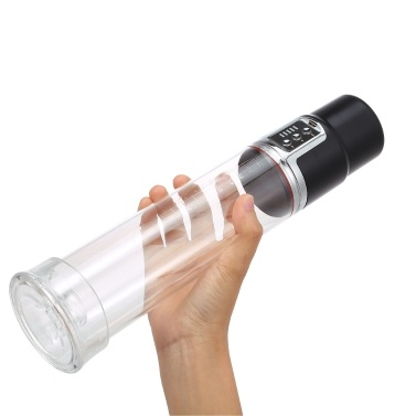 USB Rechargeable Male Enhancer Electric Penis Pump Trainer
