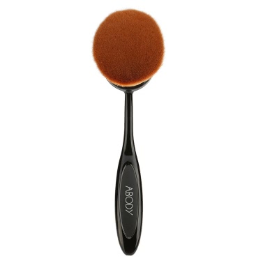 1pc Abody Oval Makeup Brush Cosmetic Foundation Cream Big Size Powder Blush Professional Makeup Tool Cosmetic Brush