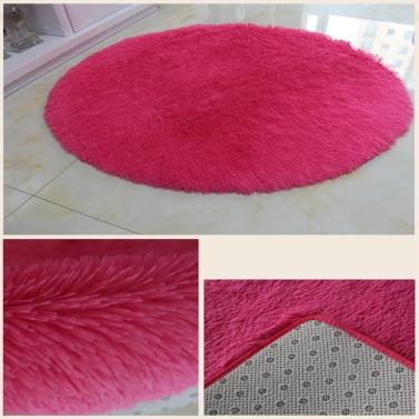 40cm 40cm ba o suave dormitorio ducha de piso alfombra for Alfombras redondas chile