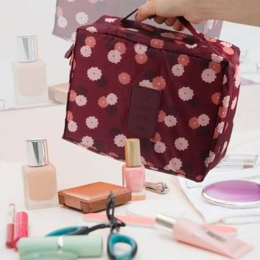 Tragbarer Reise-Make-upbeutel-Kosmetiktasche-Organisator