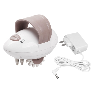 Electric Body Massager Roller Massaging Weight Loss Fat Burning Roller Handheld Relieve Tension Machine US Plug