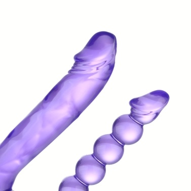 2Colors Double Shock Stick Penis of Male Root Vibration Body Massager Sex Toys Female Masturbation Adult Sex Product Toy for Women