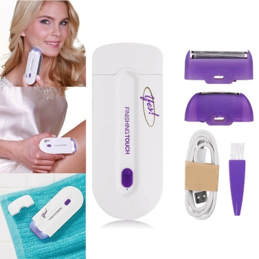 Rechargeable Painless Touch Laser Epilator Facial Body Hair Remover Flawless Removal Depilator  Shaving Trimmer Device