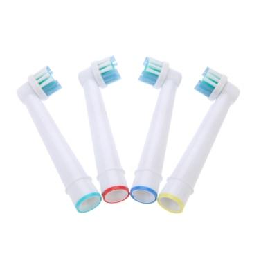 4pcs Elektro Aufsteckbürsten Fit für Braun Oral B Vitality EB17-4