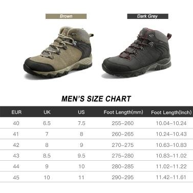 Clorts HKM-822 Hiking Boots Climbing Hiking Shoes