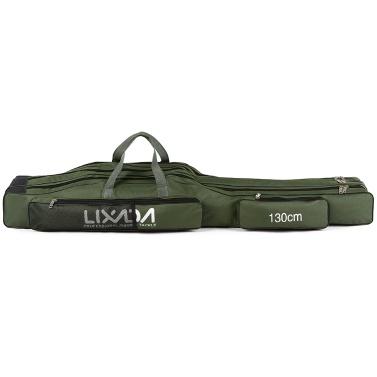 Lixada 130cm/150cm Three Layers Fishing Bag