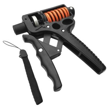 Adjustable Grip Strengthener Hand Exerciser 33-110lbs Gripper Hand Squeezer Wrist Forearms Strengthener Workout Training Equipment