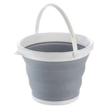 10L Collapsible Bucket Folding Water Container for Home Outdoor Washing Camping Hiking Fishing
