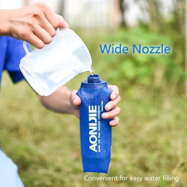 Drinking Straw for AONIJIE Soft Running Water Bottle Straw Hydration Bottle Long Sucker