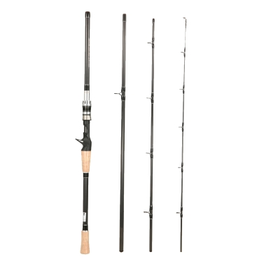 4 Abschnitte Spinning Casting Angelrute Hohe 99% Carbon Ruten Angelrute