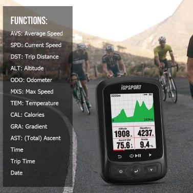 iGPSPORT IGS618 GPS Cycling Computer