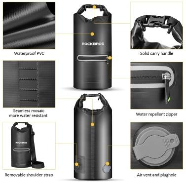 10L Waterproof Bag Floating Dry Bag Boating Kayaking Canoeing Waterproof Sack Bag Travelling Camping Hiking Dry Bag