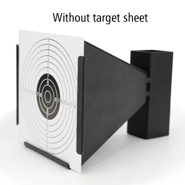 屋外の屋内再生利用できる金属の携帯用漏斗のタイプ発砲の射撃の練習WSTのターゲット