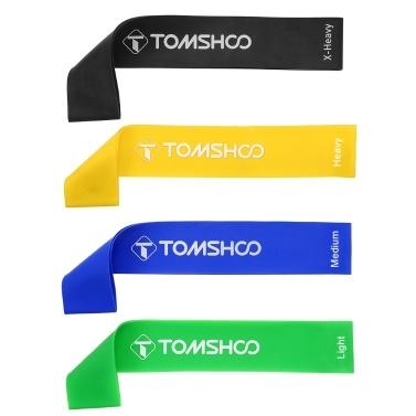 TOMSHOO 5 Packs Pull Up Assist Bands Set