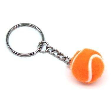 Mini Tennis Ball Schlüsselanhänger