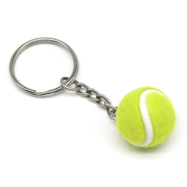 Mini Tennis Ball Key Chain