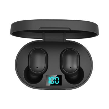 E6S TWS Kopfhörer True-Wireless In-Ear BT5.0 Headset 6mm Moving Coil Sport-Ohrhörer mit 280mAh Ladekastenunterstützung English Wake Up Voice Assistant