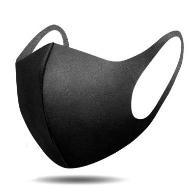Boca Máscara Anti Poeira Rosto Tampa da Boca Máscara Facial Anti-fog Respirável e Lavável