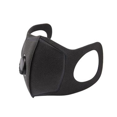 Masque anti-poussière bouche Ma-sk éponge avec valve respiratoire Masques réutilisables lavables Couvercle de bouche visage anti-buée