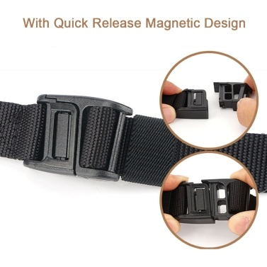 Universal Magnetic Plastic Buckle Belt Side Release Buckle DIY Belt Buckle For Belt Backpack Luggage