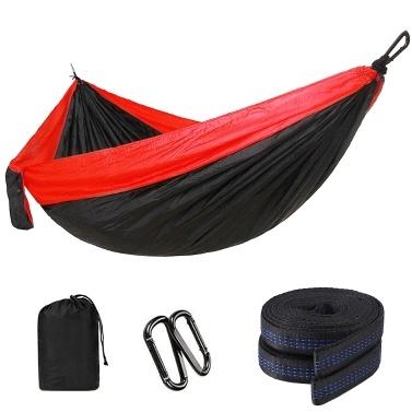 Single Camping Hängematte Leichte Nylon Fallschirm Stoff tragbare Kinderbett hängen
