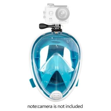 Abnehmbare Trockenschnorchel-Tauchmaske mit vollem Gesicht
