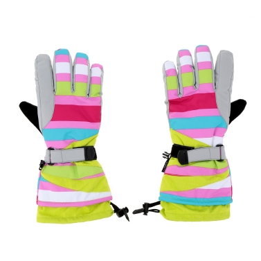 2Pcs Winter Windproof Thermal Skiing Skating Gloves