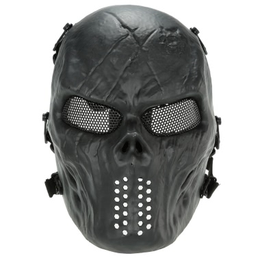 Buy Outdoor Wargame Tactical Mask Full Face Airsoft Paintball CS Army Halloween Party Cosplay Protective