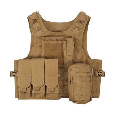 Outdoor Weste Body Molle Jacke CS Dschungel Ausrüstung