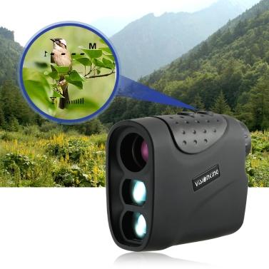 Outdoor Compact 6x21 Golf Laser-entfernungsmesser 1000 mt / 1200 mt Entfernungsmesser Monokulare Teleskop Entfernungsmesser Tester