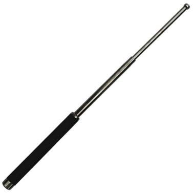 Portable multifonctionnel Self Defense Stick Hammer Camping Randonnée Kit de survie Outil d'évacuation d'urgence Trousse à trois sections à bandes télescopiques à carreaux rétractables