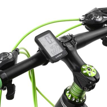 Lixada USB Rechargeable Wireless Bike Cycling Computer with Bicycle Speedometer Odometer