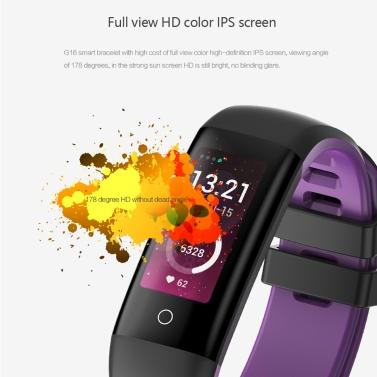 G16 Color Screen Smart Sport Bracelet For Valentine's Day Gift