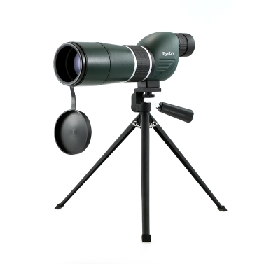 15-45x60 gerade / abgewinkelt Spektiv mit Stativ Portable Travel Scope Monocularteleskop mit Stativ Tragetasche für Vogelbeobachtung Camping Backpacking