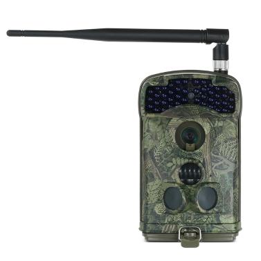 12MP 1080P drahtlose MMS / SMTP / FTP 3G Hinterkamera-Jagd-Spiel-Kamera-im Freien Pfadfinder-Kamera mit 3 PIR-Sensoren Infrarot-Nachtsicht-SMS-Befehl IP66 imprägniern 100 Grad-breiten Objektiv-Winkel