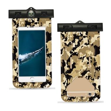 Universal Camouflage Handy wasserdichte staubdichte Tasche