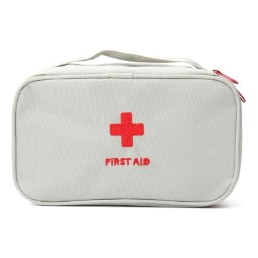 La poche vide de kit de secourisme portatif fourre de petits sacs de stockage de premier répondeur