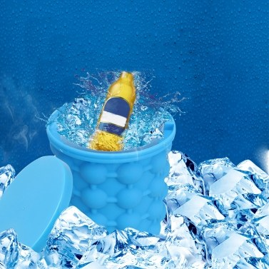 55% OFF 132mm Silica Gel Ice Maker Drinks Iced Bucket,limited offer $9.99