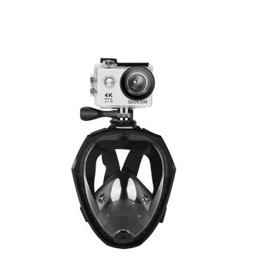 Full Face Detachable Dry Snorkeling Diving Mask Summer Swimming Training Scuba Anti-fog Water Snokel