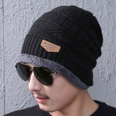 Winter Thermal Knitted Heanie Hat
