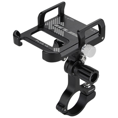 Aluminum Bike Phone Holder 360 Degree Rotating Adjustable Anti Slip Cycling Bicycle Handlebar Phone Mount Holder Stand