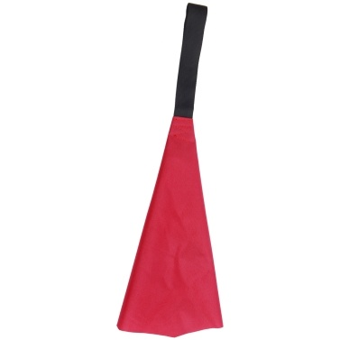 Kayak Red Flag with Webbing Travel Warning Flag for Boat Canoes Safety Accessories