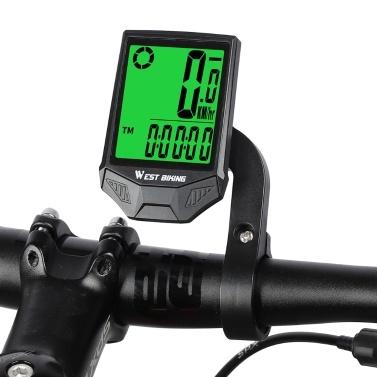 WEST BIKING Bike Computer Wireless Speedometer Odometer