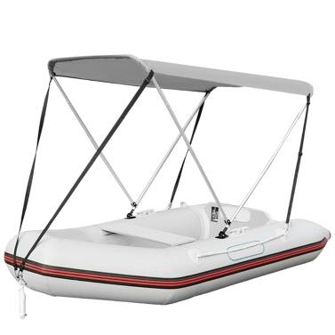 Bimini Top Cover Waterproof Anti-UV Kayak Boat Canopy Awning Sun Shade