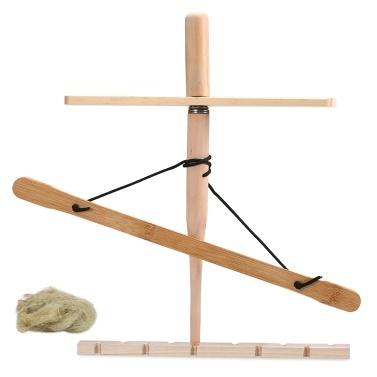 Bogen-Bohrerset Primitive Holzüberlebens-Praxis Reibungs-Feuerwerkzeug-Kit