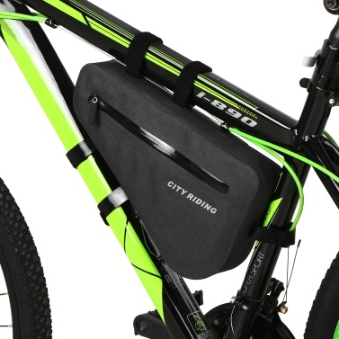 Waterproof Cycling Triangle Bag Bike Front Tube Frame Bag MTB Bicycle Bag Pouch